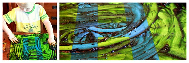 Edible finger paint + tape resist letters.: Homemade Fingers, Edible Finger Paints, Tape Resistance, Edible Fingers Paintings, Resistance Letters, Resistance Art, Paintings Recipes, Homemade Edible, Water Recipes