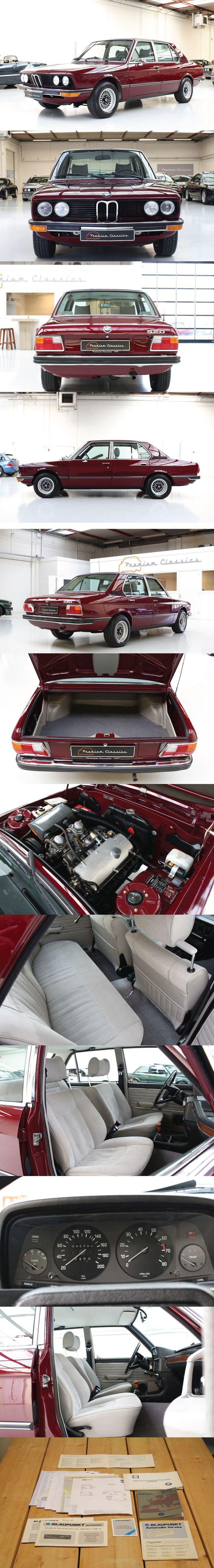1974 BMW 520i e12