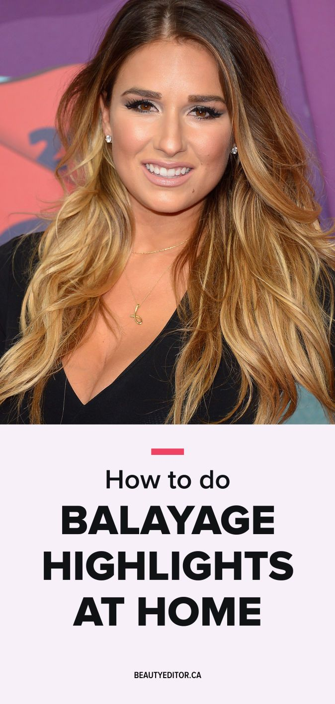 How to Do Balayage Highlights at Home | Beautyeditor