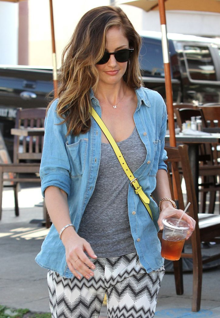 Minka Kelly's New Highlights Will Make You Want to Forget Ombre Hair Color Forever