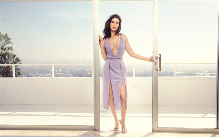 Download wallpapers Hollywood, Alison Brie, 2017, american actress, brunette, beautiful women