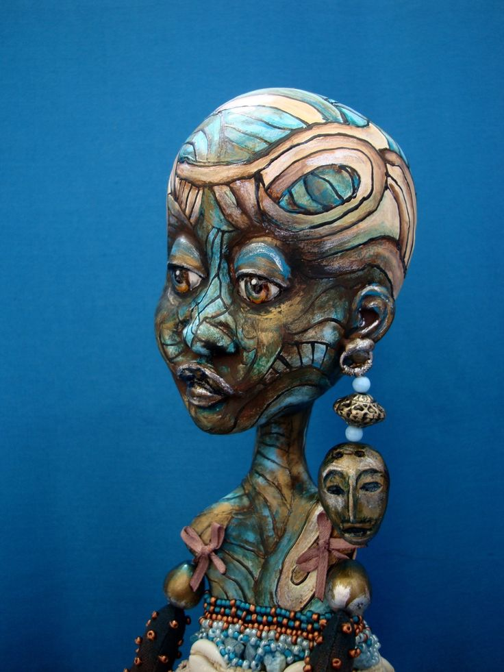 African ethnic art doll - Dark skin interior ooak doll - Black girl poseable doll - African collectible doll as gift - NAKATO by DreamTrainOfDolls on Etsy https://www.etsy.com/listing/292336933/african-ethnic-art-doll-dark-skin