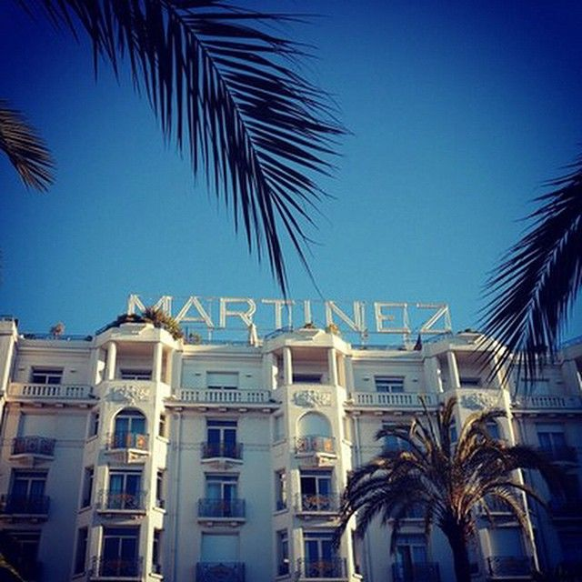 Bonjour from Cannes! Another glorious morning at Grand Hyatt Cannes Hotel Martinez.