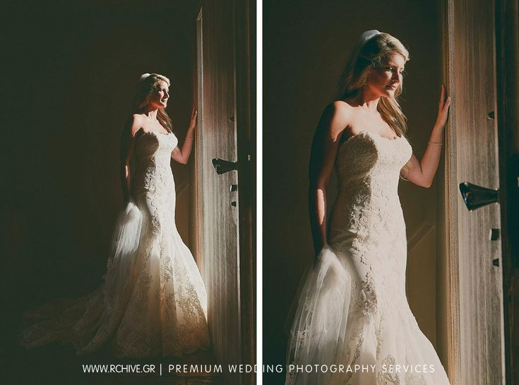 Bridal portrait at Island Private House. Sometimes a window is all you need.