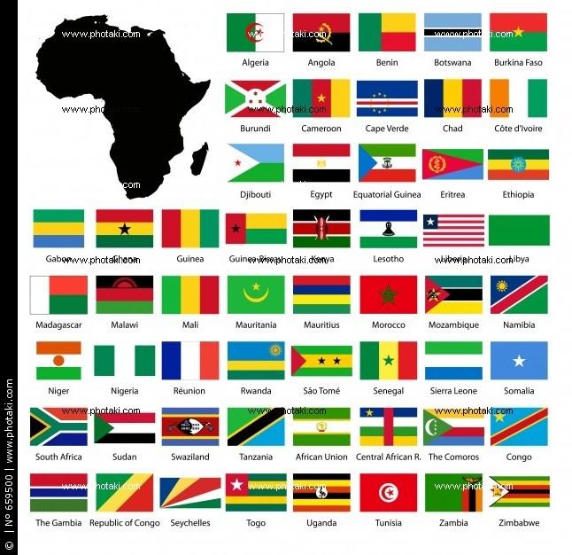 Bandeiras Da AfricaJORGENCA BANDEIRAS MUNDIAIS