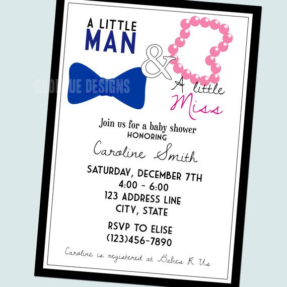 the  best images about mm party ideas on   treat bags, Baby shower invitation