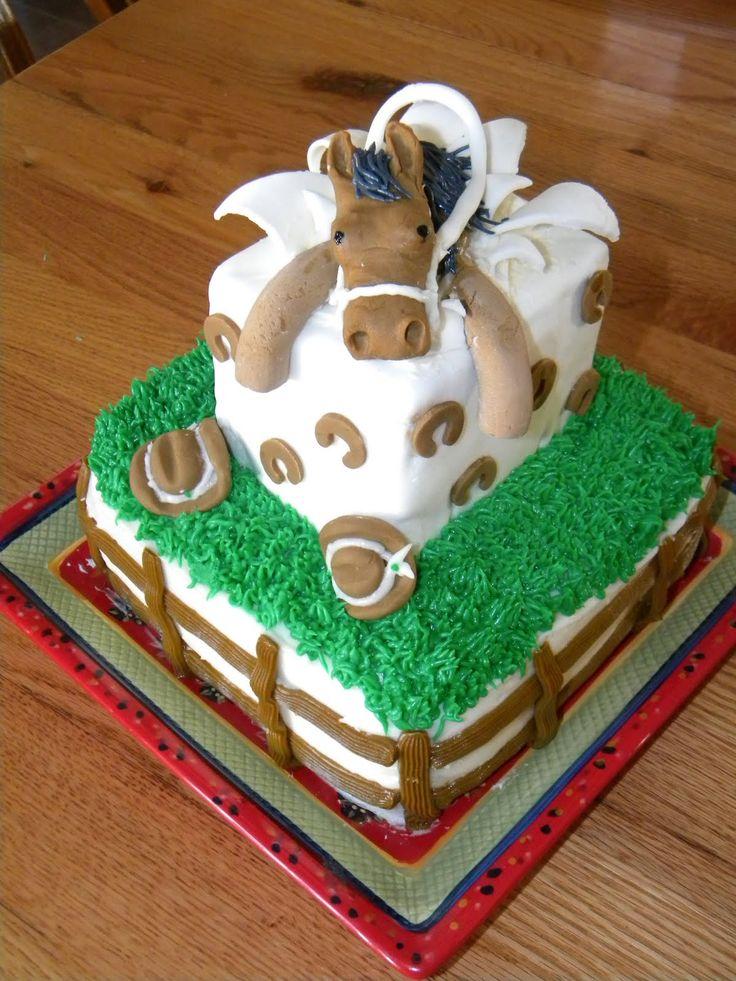 85 best Horse cakes images on Pinterest Horse birthday ...