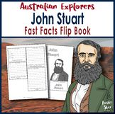 Australian Explorers - John Stuart - Fast Facts Flip Book