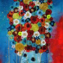 Bouquet de paradis, by Vigo artiste peintre
