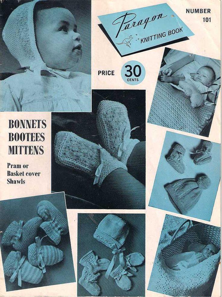 Paragon Knitting Book number 101, Baby knits, vintage Knitting book, 1970s 70s seventies knitting patterns, vintage baby knitting patterns by Rethreading on Etsy