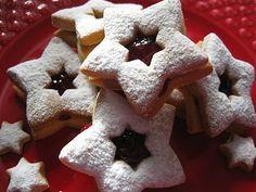 O Bolinho de Sábado: Estrelinhas de Natal com Doce de Framboesa