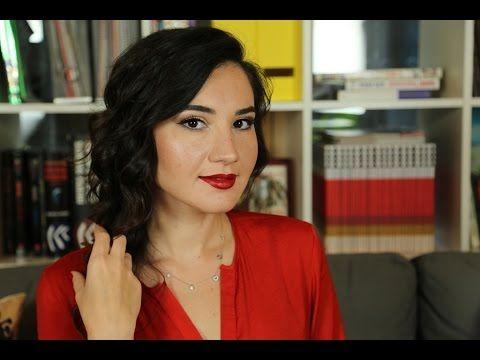 Klasik Hollywood Makyajı | Kırmızı Ruj Makyajı | makyajmidedin