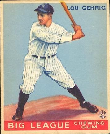 Most Valuable Baseball Cards | ... card Lou Gehrig – 1933 Goudey Top 10 Most Expensive Baseball Cards