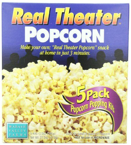 Wabash Valley Farms Real Theater AllInclusive Popping Kits 5Count Pouches Pack of 3 *** More info could be found at the image url.