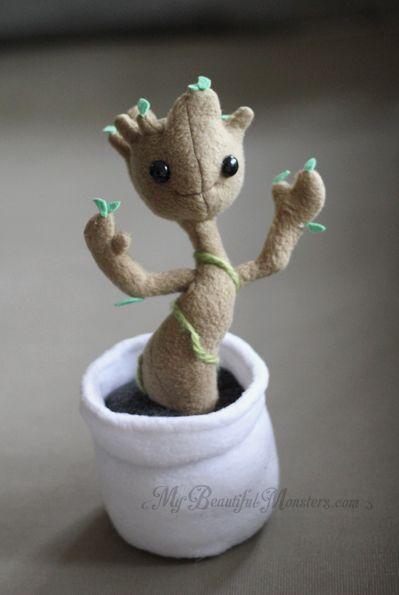 Die Besten 25 Baby Groot Plush Ideen Auf Pinterest