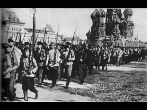 Les combattants polonais de l'armée rouge (1917-1920), 1ere partie
