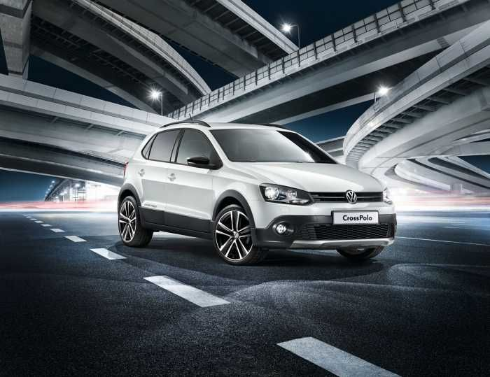 Volkswagen CrossPolo gets bling Urban Ice package