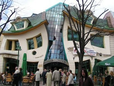 The Crooked House Poland - Facts Land