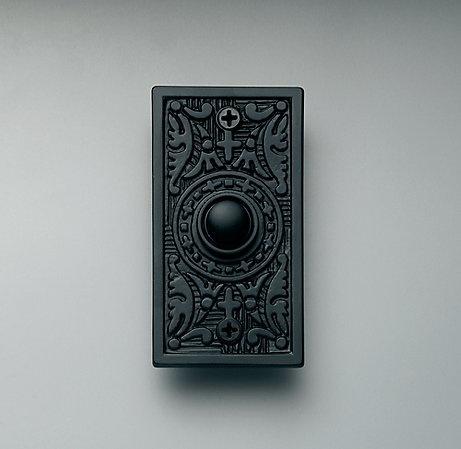Restoration Hardware Embossed Doorbell, $10