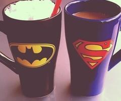 I love mugs...so i give mugs to the ones i love/like/admire! And i know the one who would look perfect with this ones! #SuperHero #Mugs