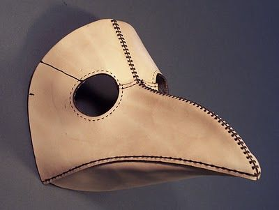 Tom Banwell—Leather and Resin Projects: Plague Doctor Mask