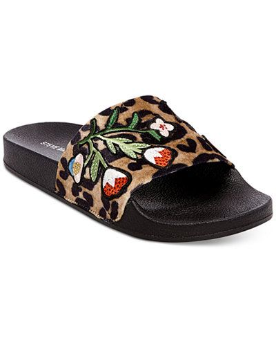 Steve Madden Patches Slide Sandals