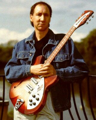 """Pete Townshend """"The Who"""" and His Rickenbacker"""