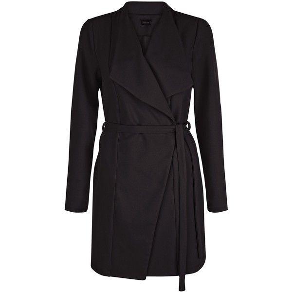 Best 25  Black waterfall coat ideas on Pinterest | Waterfall coat ...
