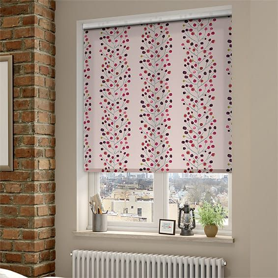 Berry Tree Mini Plum Roller Blind