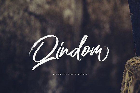 Qindom by Realtype.co on @creativemarket