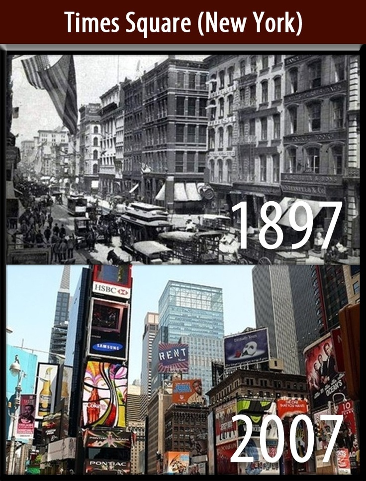 Times Square (New York) copy | Places - then and now ...
