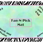 Kagan inspired fan and pick structure group mat. ...