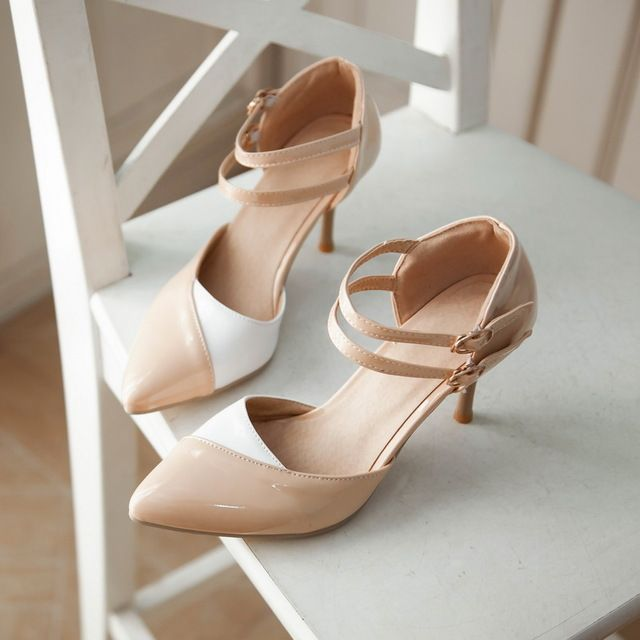Special offer Summer style shoes Sexy Women sandals High Heel Ladies Formal Shoes free shipping size30 31 32-43 44 45 46 47 just only $24.99 - 30.99 with free shipping worldwide  #womenshoes Plese click on picture to see our special price for you
