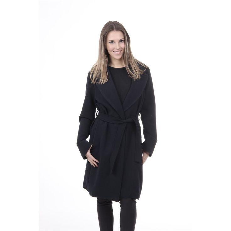 Versace 19.69 Abbigliamento Sportivo Srl Milano Italia Womens Coat CAPPOTTO VESTAGLIA TESS. SUPERDUKE BLU NAVY