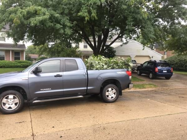 2007 Toyota Tundra double cab 4×4 TRD SR5 only 89,000 miles (Chatham, IL) $17500: < image 1 of 1 > 2007 Toyota Tundra condition:…