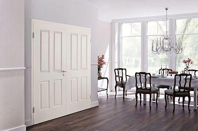 Také interiérové dveře lze mít ve dvoukřídlé variantě.
