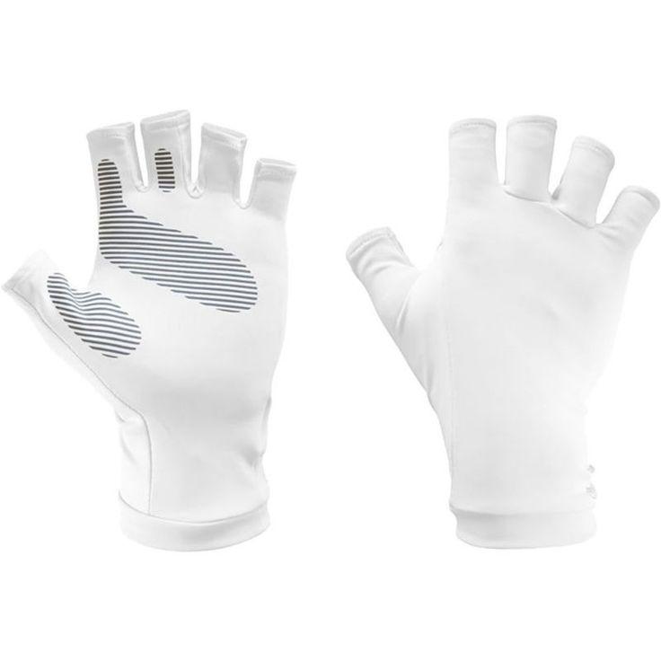 Sunday Afternoons UVShield Sun Gloves, Men's, Size: L/XL, White