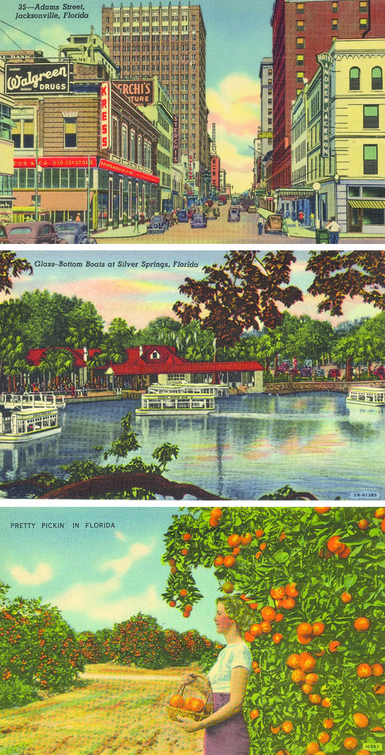Oh, vintage Florida!This is how it looked the 1st time I saw it at age13 in 1950.