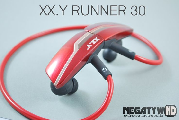 Niezłe dokanałowe słuchawki Bluetooth w czerwonej, przepięknej obudowie.