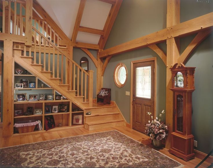 Best Open Shelving Under The Stairs Can Showcase Collectibles 400 x 300