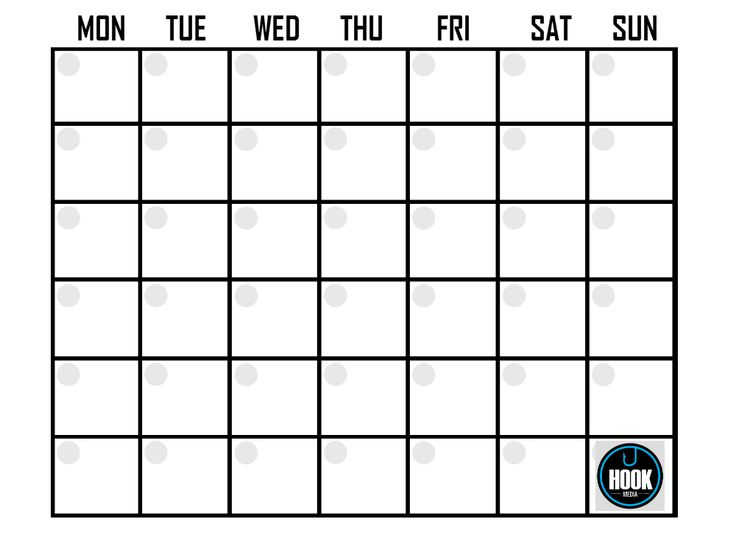 Plan your #SocialMedia updates with a content calendar! Let's get #organised