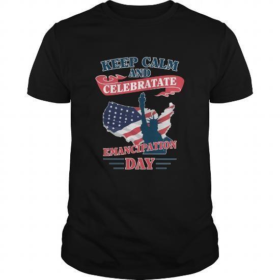 Cool EMANCIPATION DAY T shirts