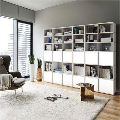 DIY Bookshelf Ideas #diybookshelfideas #bookshelfideasdecor #bookshelfdecorideas ~ kliksaya.me