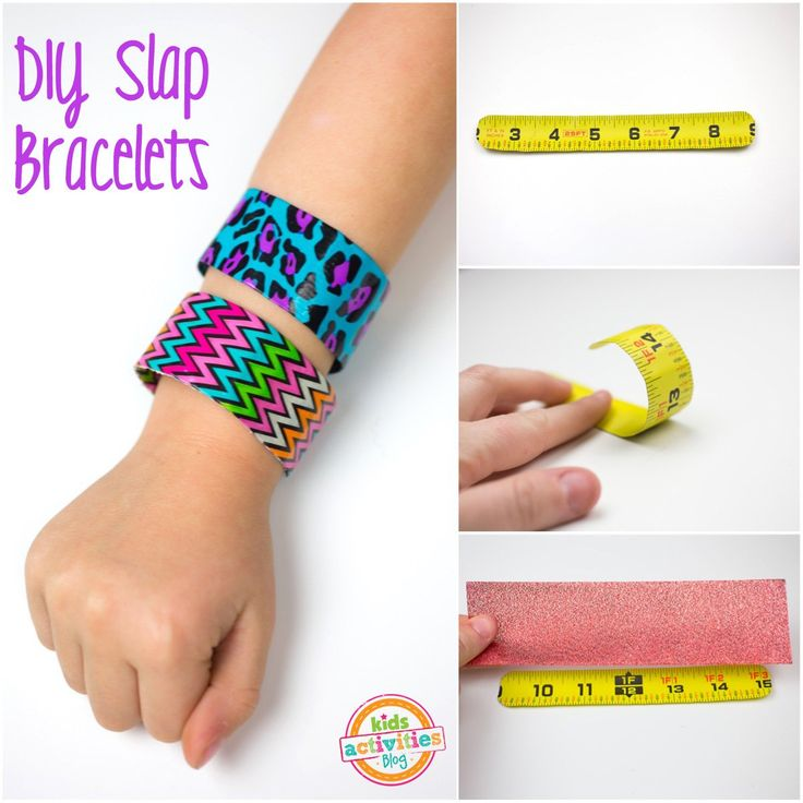You won't believe how easy it is to make DIY Slap Bracelets. Remember slap bracelets from way back when? Now you can make your own (and get kids to help) with just a few supplies. It's really fun to make your own jewelry. DIY Slap Bracelets Here's what you need to make DIY Slap Bracelets: Measuring Tape (the kind you buy at the hardware store) Screw Driver Scissors Duct Tape Use the screw driver to remove the outer casing of your measuring tape. Cut off the metal end of the tape ...