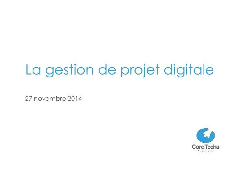 Le 27 novembre, Core-Techs a organisé une conférence destinée à la gestion de projet digital.  Au programme : les profils des chefs de projet, l'organisation d…