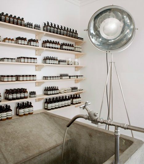 The Aesop Nottingham Shop Was Designed by Paris Studio Ciguë #pharmacy trendhunter.com