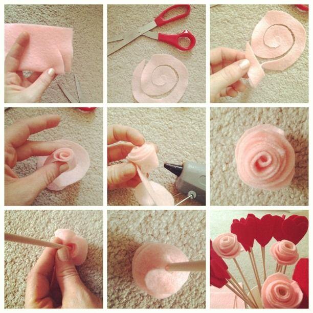 #Idee #San Valentino #fai da te