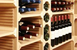 scaffale in legno per bottiglie vino - Cerca con Google