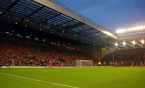 Anfield Road, Liverpool FC, Liverpool, United Kingdom
