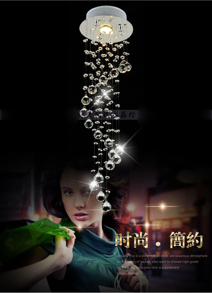 Pas cher Moderne effacer Waterford Spiral sphère LED Lustre Lustre en cristal au plafond lampe décor à la maison Suspension Suspension luminaire, Acheter  Éclairage suspendu de qualité directement des fournisseurs de Chine:                  Bienvenue à notre magasin.                                            Nous sommes LED facoty lumière,